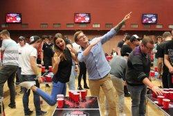 1. Otevřené Mistrovství ČR v Budvar Beer-Pong