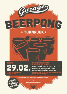 Beer pong Turnájek - Garage Tábor