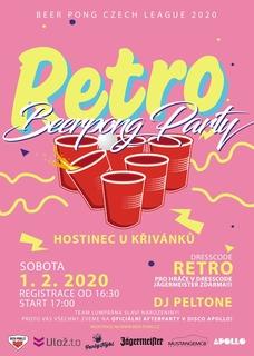 Beer pong Czech League 2020 - Tábor
